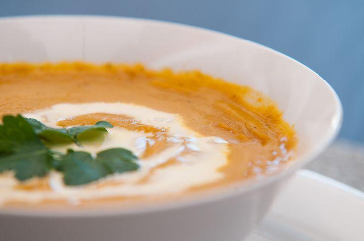 Glowing Butternut soup