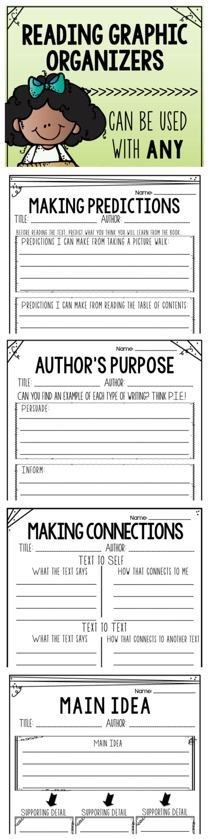 214 best graphic organizer images on Pinterest #0: fa62f3bd0781bfc781fdaf7fbf1e65ae reading strategies reading activities