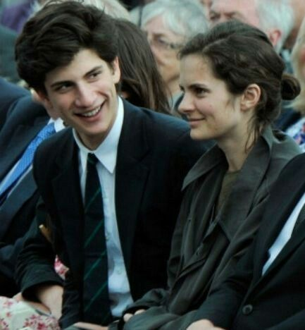Jack and Rose, children of Caroline Kennedy Schlossberg and husband Edwin Schlossberg
