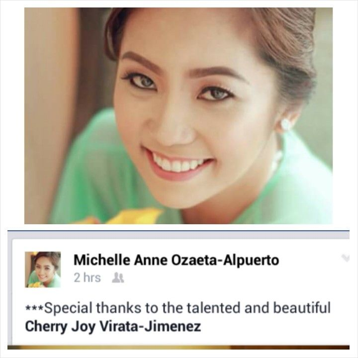 Thank you for the appreciation Dra. Michelle. Our beauty, brains and kind heart bride. Super walang ere sya promise and just always smiling. Love you dra. ;)  CJ Jimenez Make Up Team: 1. Exceptional Portfolio 2. Consistent, More than A Thousand, Unsolicited and Real Time Positive Clients Feedback 3. Numerous Credentials:  Pond's Beauty Ambassador (1 of only 16 HMUAs in the Philippines) Bridal Make Up Artist of the Year- Top Brands Most Sought After Supplier / Top Booker for HMUA category…