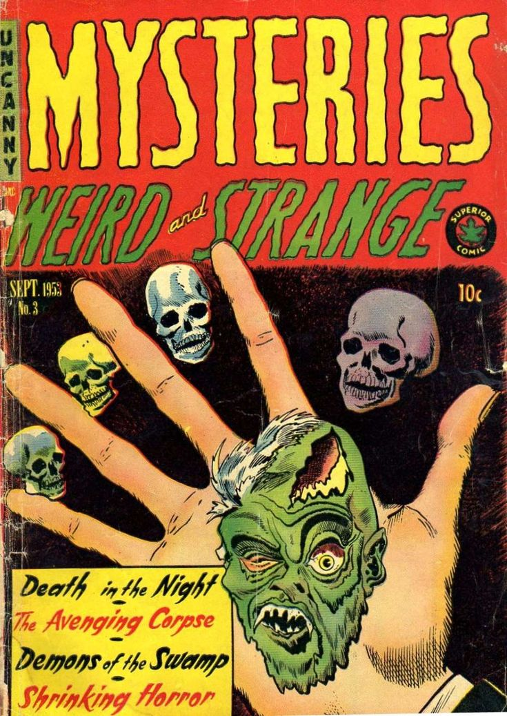 Comic Book Cover For Mysteries #3