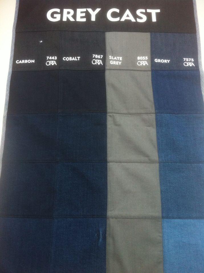 Orta denim colours grey cast