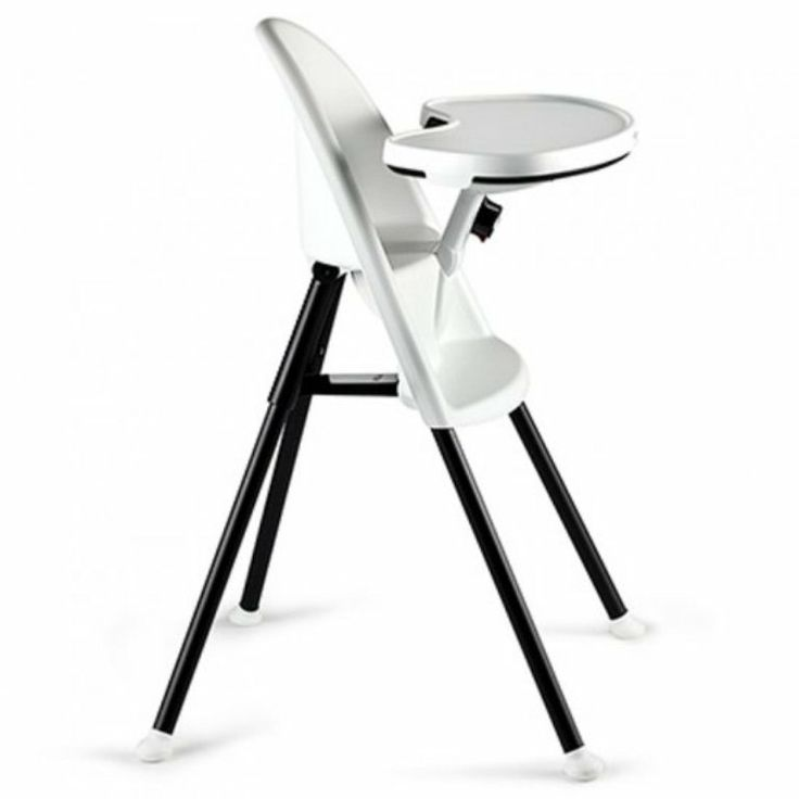 BabyBjorn High Chair in White  Proper sitting position  -   Small children are not well-seated or comfortable in most high chairs . That's why we designed BabyBjorn High Chair with a curved backrest that hugs your child's body , and an adjustable table that helps your child to sit comfortably upright. The high chair is suitable for children from six months to three years , and is easy to adjust to your growing child.