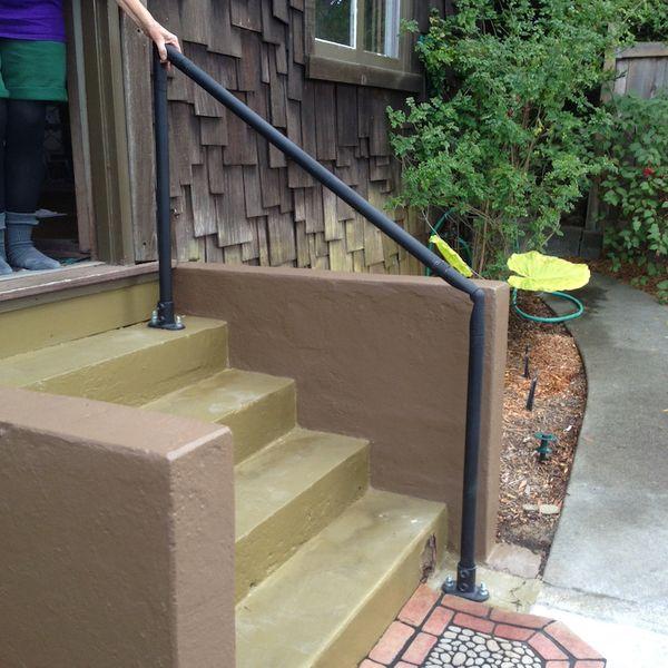 Best Outdoor Stair Railing Kit Buy Step Handrail Online 640 x 480