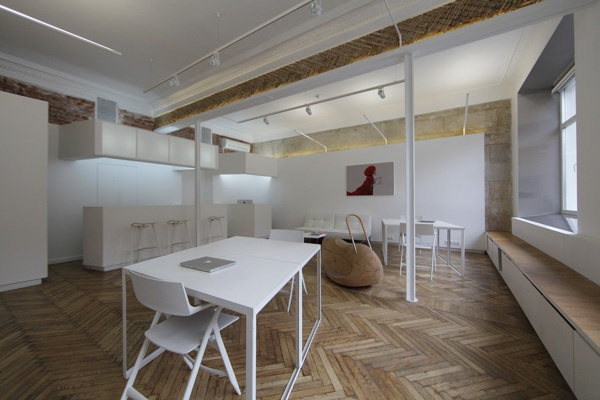 Vconfession office moscow 2012 by masterskaya#17 , via Behance