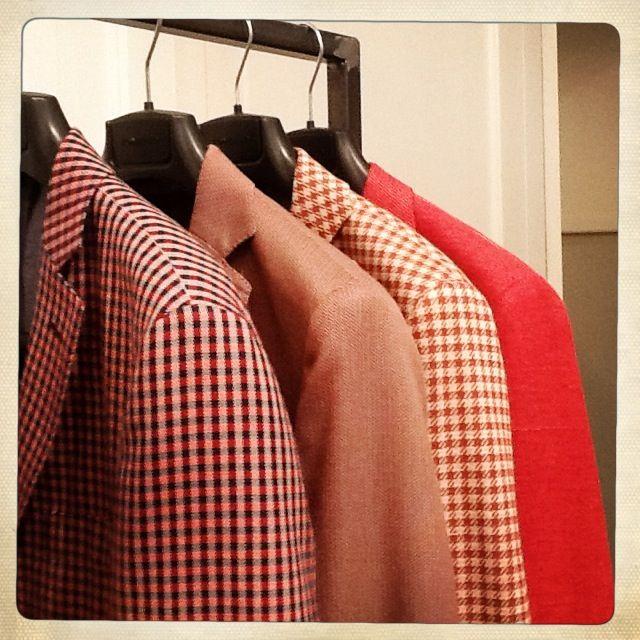 Giacche rosse Tonello - Collezione Uomo SS2014