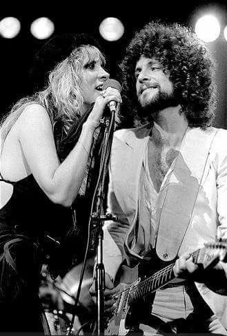 1977 Stevie Nicks and Lindsey Buckingham