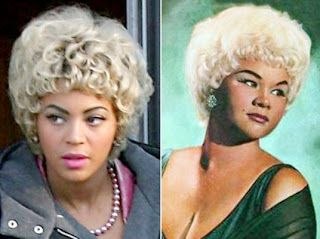 Beyonce as Etta James in Cadillac Records