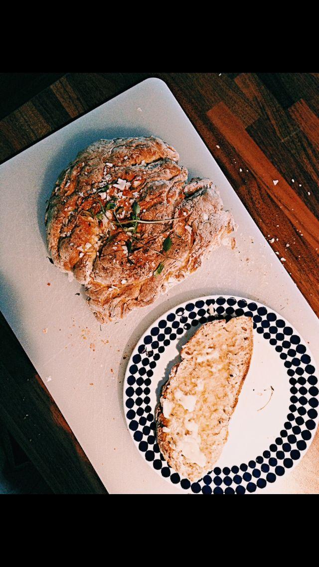 Herb and lemon bread