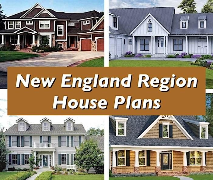 A Guide To 5 Essential New England Architectural House Styles New England Style Homes House Styles England Houses