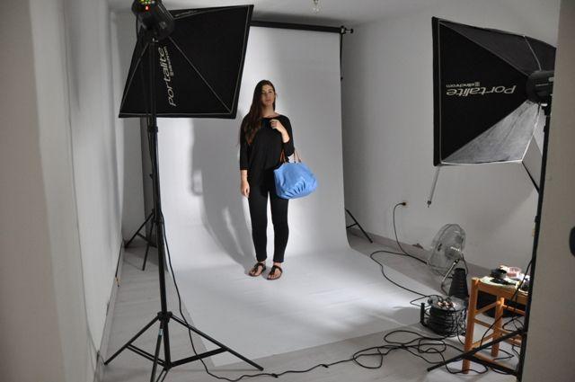 Making Of Photoshoot BenchBags - Sky Talega