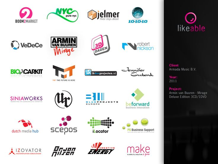 #LikeableDesign #MartijnKoudijs #LogoDesign #GraphicDesign www.likeable.nl