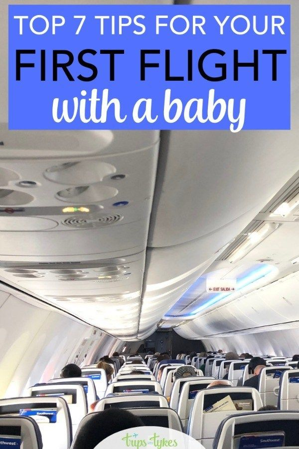 Top 7 Tips For Baby S First Flight Travel Tips With Baby Baby