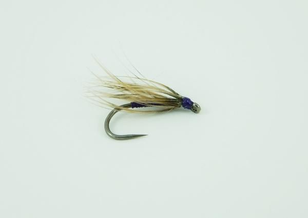 Snipe & Purple. A great sparse spider pattern for the early season. Fished on a long leader teamed up with the Waterhen Bloa & Endrick Spider, these can be deadly. Dressed in appropriate sizes and weights, the Snipe & Purple can be fished successfully throughout the season. This selection contains three each of sizes 14 & 16.  Early Season Trout Selection
