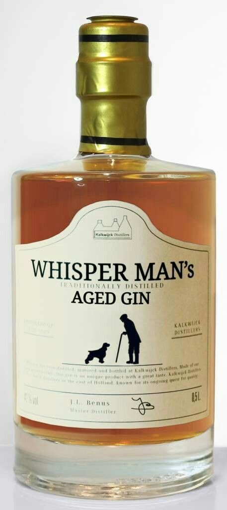 Whisper Man's Aged Gin, for bringing life to those silver fox characters.