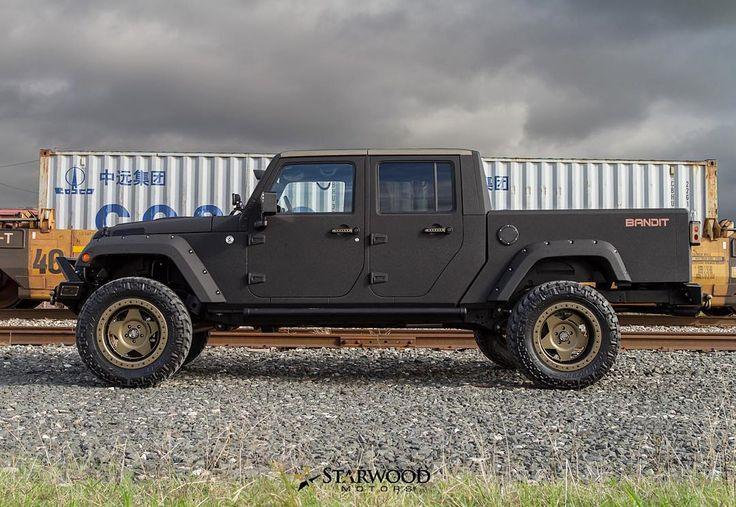STARWOOD MOTORS — The Bandit - 4 Door Jeep Truck Conversion - Now...