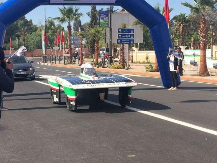 """Vittoria del Team Onda Solare al Moroccan Solar Race Challenge 2016 — Dipartimento di Ingegneria dell'Energia elettrica e dell'Informazione """"Guglielmo Marconi"""" - DEI"""