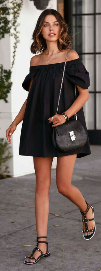 Black little dress http://www.deal-shop.com/product/levaca-womens-long-sleeve-button-cowl-neck-casual-slim-tunic-tops-with-pockets/