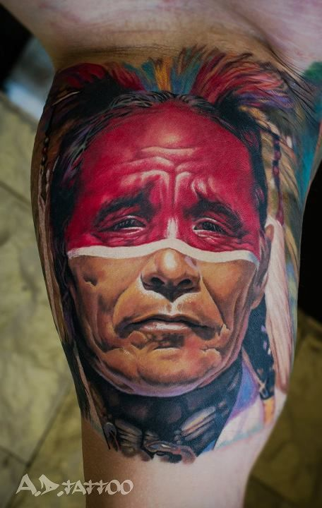 Native American Tattoo #kickasstattoos http://wri.es/iiRgr
