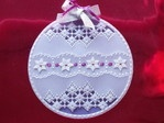 Made by Mandy Haines from the Pergmano Christmas Special Magazine