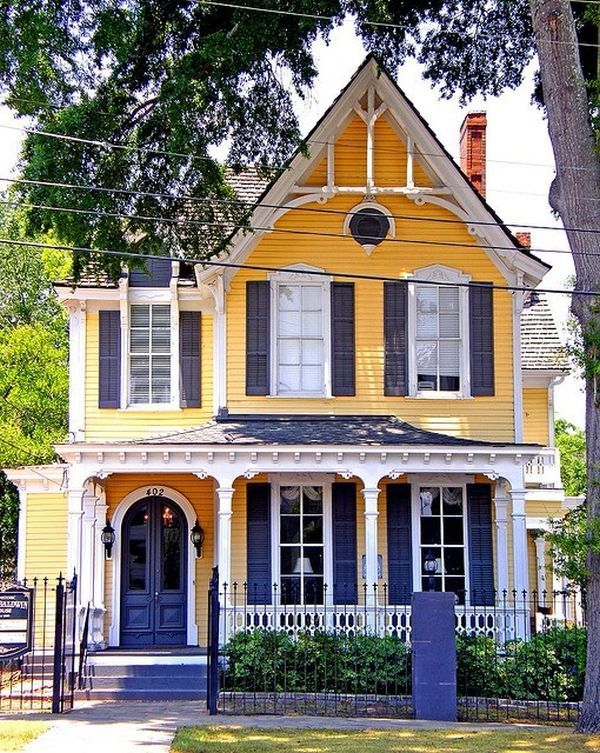25 Best Ideas About Yellow House Exterior On Pinterest Yellow Houses Yellow Kitchens And