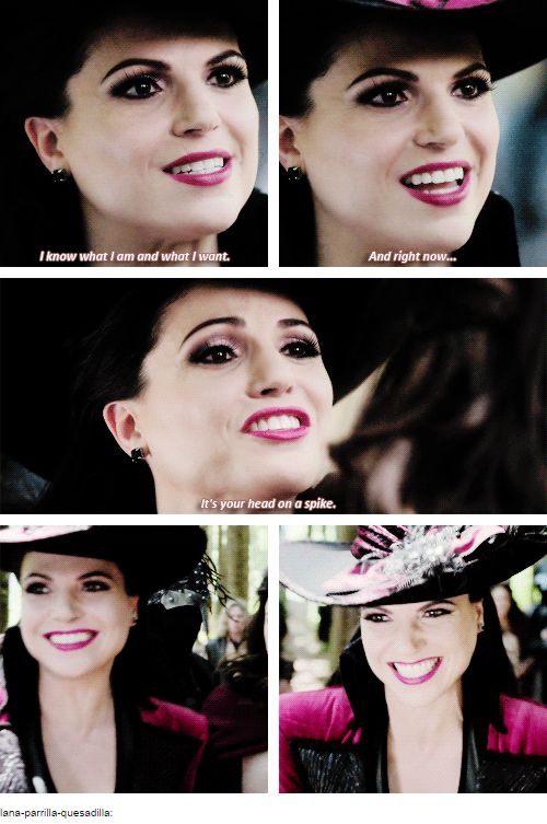 OUaT 4.01 This is one of my favorite Evil Queen looks