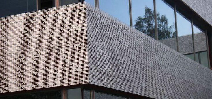 Perforated Metal Sheet For Facade Cladding Aluminum