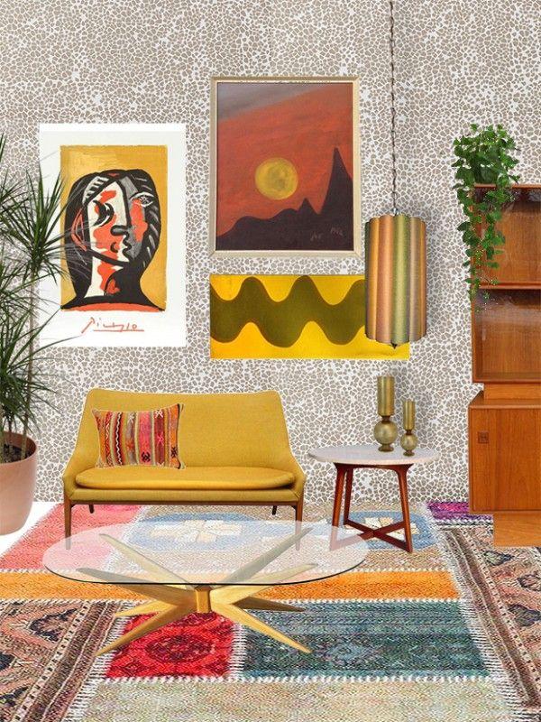 Die besten 25+ Orangefarbene wänden Ideen auf Pinterest Orange - wohnzimmer orange rot