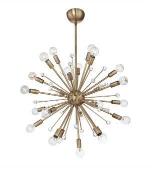 Savoy House, 7-6099-24-322, Warm Brass