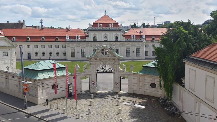 The view from the classroom window on our new campus at IBS Vienna. www.ibsvienna.com