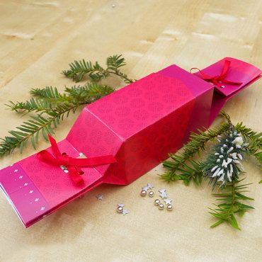 6 Fill-Your-Own Christmas Crackers & Tags - in Cherry by KeepThisCracker on Etsy