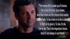 "11 ""Grey's Anatomy"" Quotes That Will Shatter Your Heart#.bwvrM4YAa#.bwvrM4YAa"