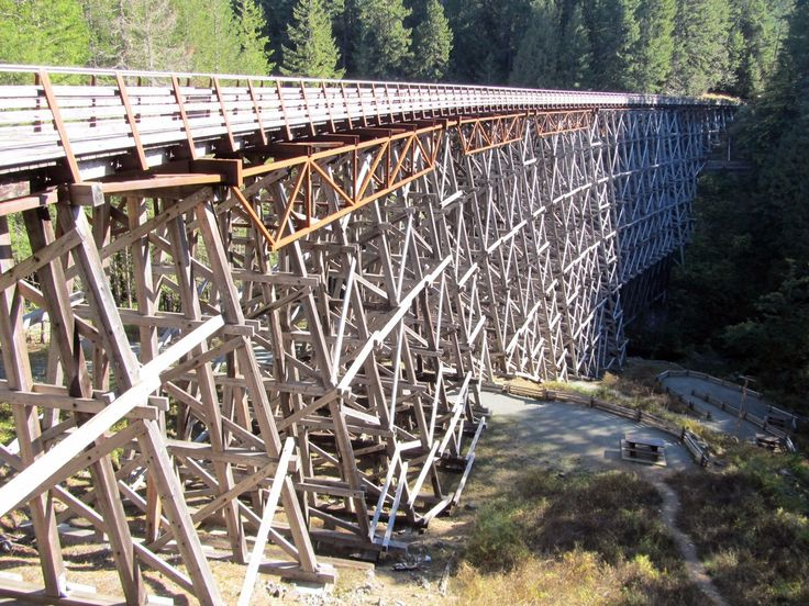 """Want to be Outdoors on Twitter: """"We walked a section of the #GreatTrail across the #Kinsol trestle bridge. It's close to #ShawniganLake south of #Duncan on #vancouverisland. https://t.co/cgNUZVoxra"""""""