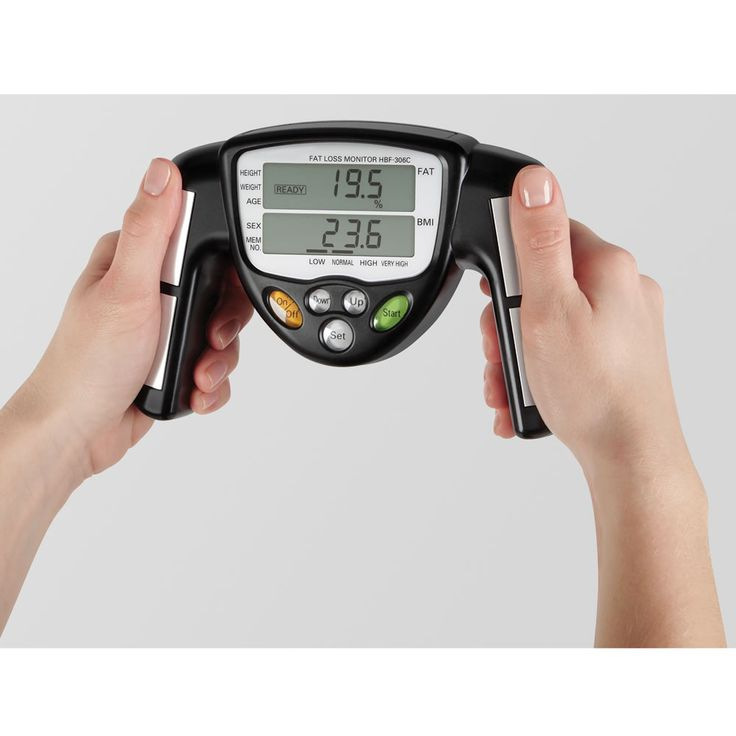 Hand Held Body Fat Analyzer Accuracy 59