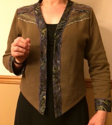 Theresa's 'Adorned' Jacket