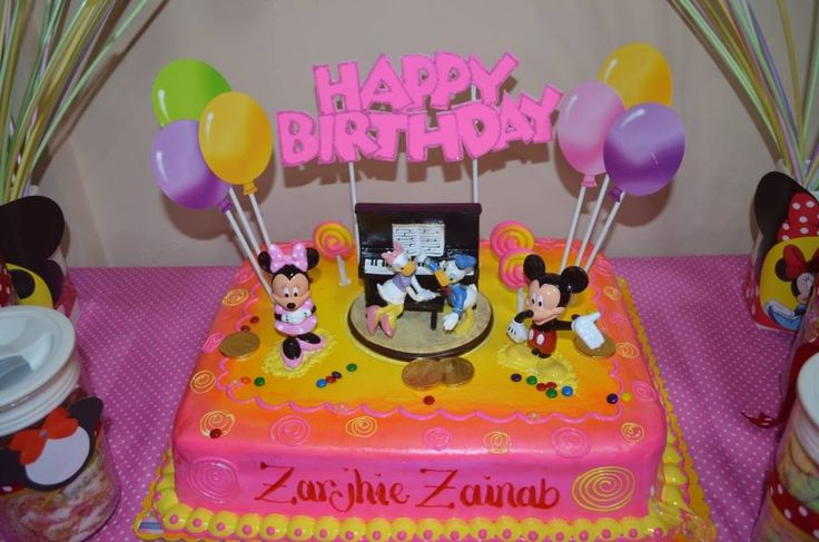 minnie mouse cake from goldilocks Minnie Mouse Birhday ...
