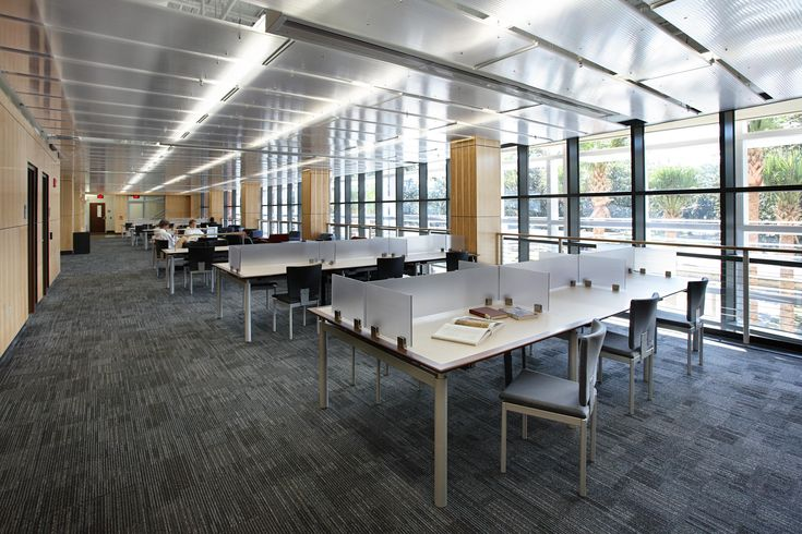A Custom Translucent Ceiling that at the University of Florida using EXTECH Polycarbonate Panels. #daylighting #translucent #polycarbonate #education #architecture #design