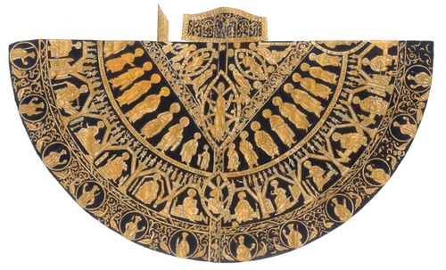 The coronation mantle of Hungary from the time of King Stephen I of Hungary, reigned 1000