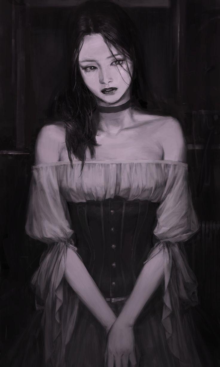 gothic , Park Pyeongjun on ArtStation at https://www.artstation.com/artwork/kOVNx?utm_campaign=notify&utm_medium=email&utm_source=notifications_mailer