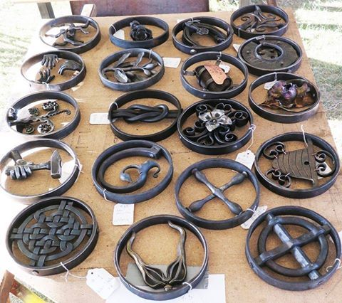 Ring projects by the Central Virginia Blacksmith Guild - http://ift.tt/29Oju6N