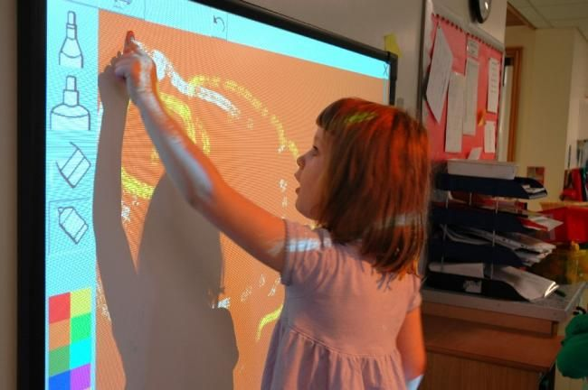 AWESOME list of smartboard websites for the Art Room!!