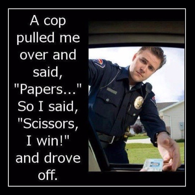 Lmao! I should try that lolLike A Boss, Remember This, Funny Pics, Real Life, Funny Pictures, The Police, Paper, Funny Stuff, So Funny
