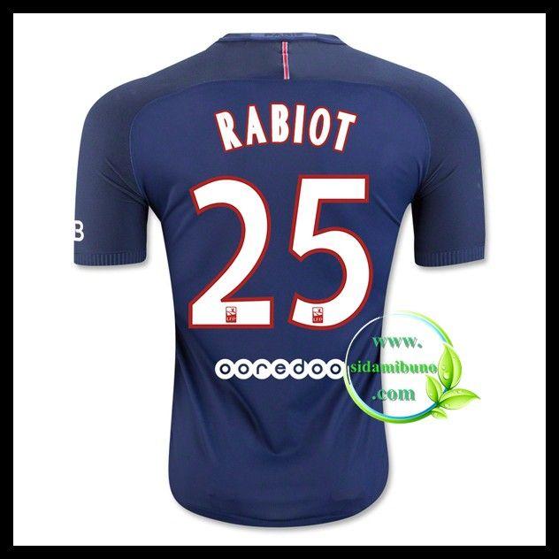 Fotballdrakter Paris Saint Germain PSG RABIOT #25 Hjemmedraktsett 2016-2017