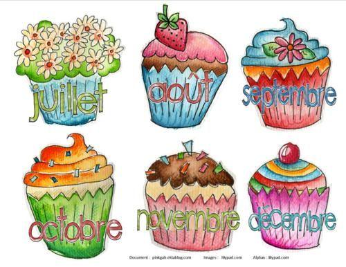 Cupcakes pour anniversaires