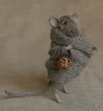 : Mice, Animals, Mouse, Doll, Knitting, Art, Adorable, Things, Crafts