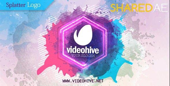 Videohive - Splatter Logo 18298248