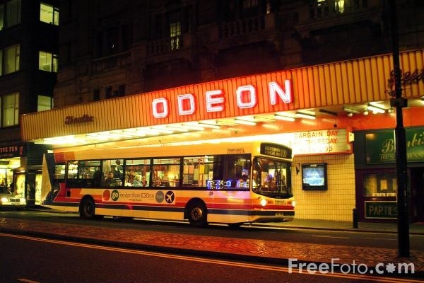Old odeon picture house