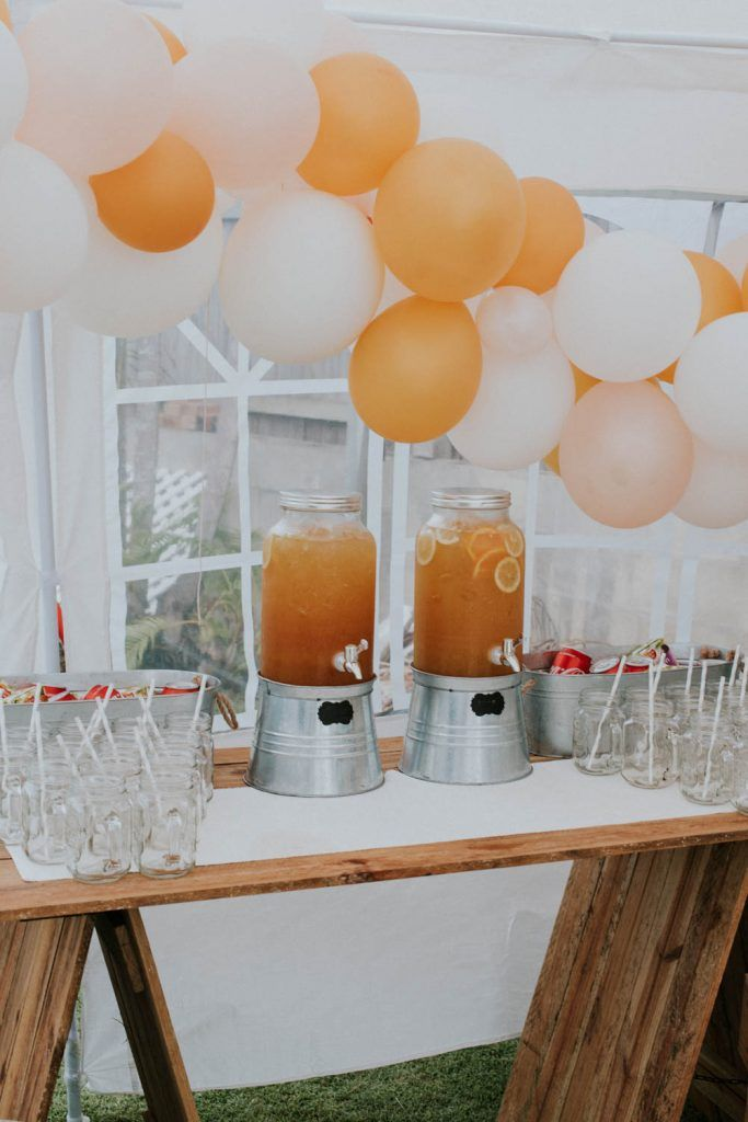 drink station hire from www.lovelyoccasions.com.au for Bowie's First Birthday
