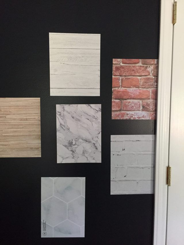 I recently posted about some peel and stick wallpaper options that don't look like wallpaper at all. Soon after, I was contacted by our local news station to do a quick segment about it and wanted to show you more pictures of the samples I ordered for the show. I found some really good ones …