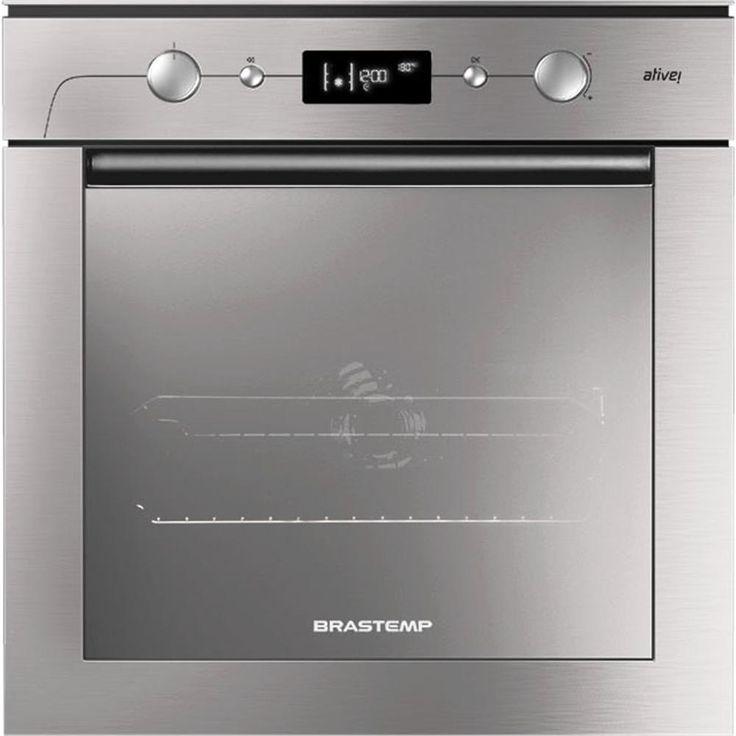 Forno Elétrico de Embutir 67 litros Brastemp Ative! BO160AR Inox -Eletrodomésticos - Fornos - Walmart.com